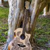 Luna Guitars Introduces New Henna Dragon Acoustic-Electric Guitar